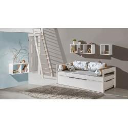 Dvojlôžková študentská posteľ Borys B1 + B3
