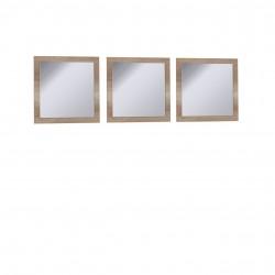 Sada nástenných zrkadiel Miro RI29 (3 kusy)