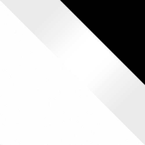 biela / biely lesk + rám čierna