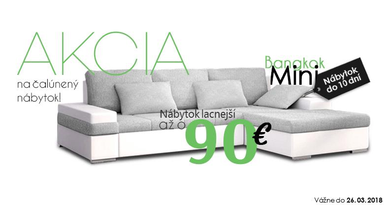 Čalúnený nábytok -90 €!