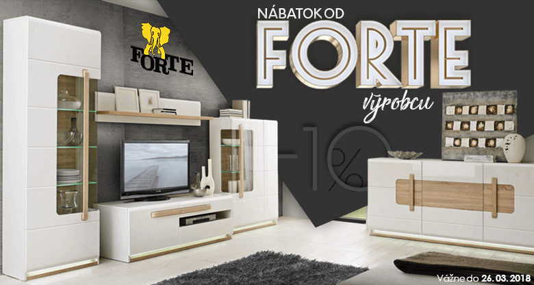 Nábytok Forte -10%